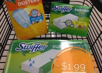 Swiffer Refills Only $1.99 at Safeway (Save up to 72%)