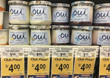 Yoplait Oui French Style Yogurt 8 Flavors Just $.73 Each at Safeway (Reg. $1.49)