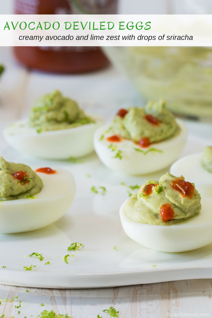 Avocado Deviled Eggs - Super Safeway