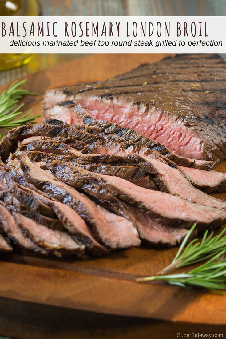 balsamic rosemary london broil