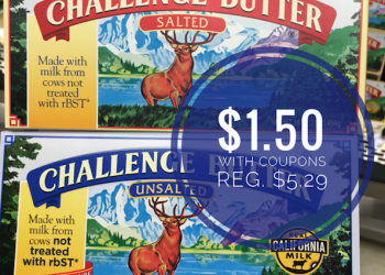 HOT! Get Challenge Butter for Just $1.50 (Save up to 72%)