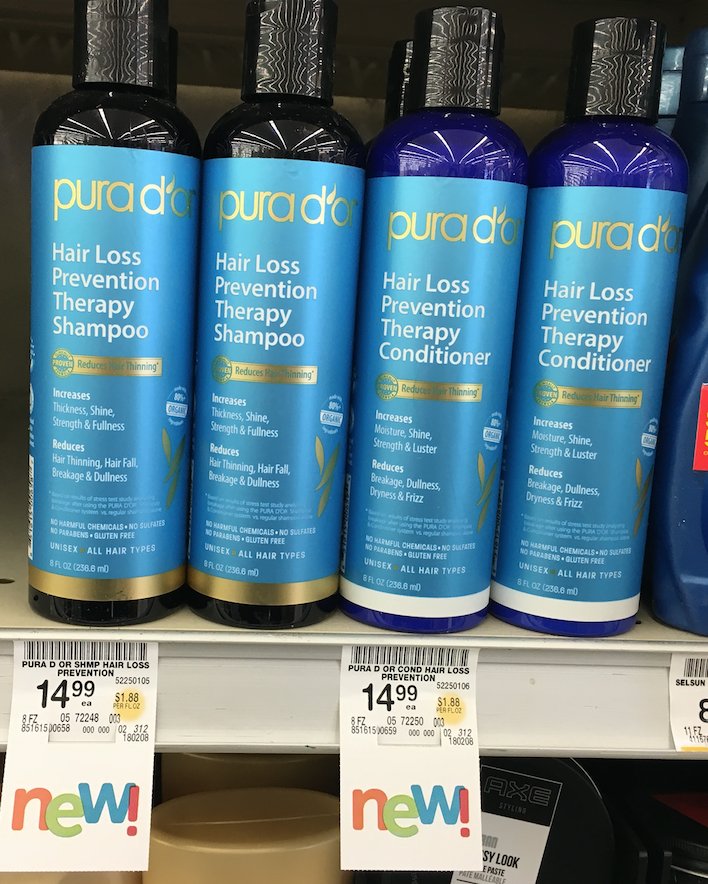 Review Of Pura D Or Hair Loss Prevention Shampoo And Conditioner