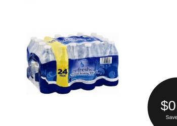 Signature SELECT refreshe Water Coupon = $0.99 (Friday – Sunday)