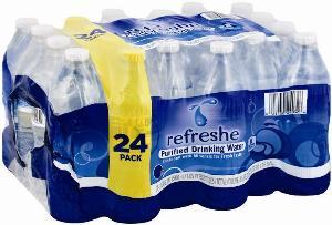 refreshe Water Coupon – $0.99 for a 24 Pack (Available Through Sunday)