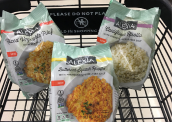 NEW Alexia Risotto or Rice for $1.99 (Save 56% on Plant-Based Foods)