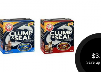 Arm & Hammer Cat Litter for $3.00 (Save 73%)