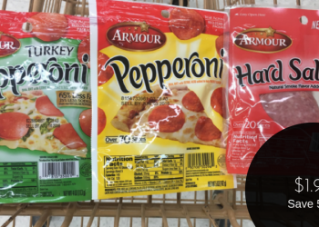 Armour Pepperoni & Salami for $1.99 (Save 50%) at Safeway