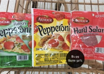 Armour Pepperoni & Salami for $1.99 at Safeway (Save 50%)