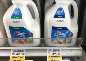 Blue Diamond Almond Breeze Almondmilk for $2.49 (96 Ounce Jugs)