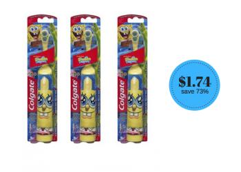 Colgate Kids Battery Powdered Toothbrushes Just $1.74 (Reg. $6.49) at Safeway