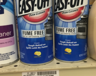 Easy-Off Cleaners for $1.99