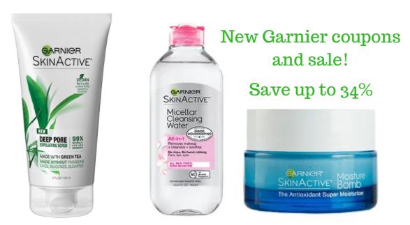 Garnier Skinactive Sale
