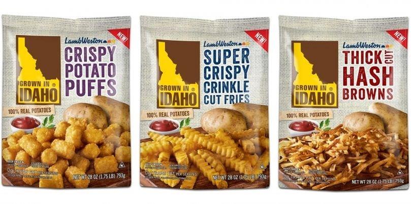 Grown in Idaho Potatoes