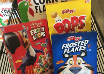 Kellogg's Cereal Sale – Free Corn Pops and $.34 Frosted Flakes at Safeway