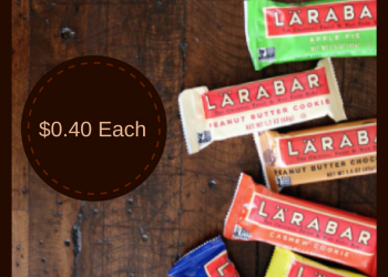 LARABAR Bars Coupon Deal – Pay as Low as $0.40 (Save Up to 75%)