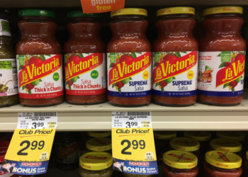 La Victoria Salsa Coupon, Pay $1.99 (Save 50%)