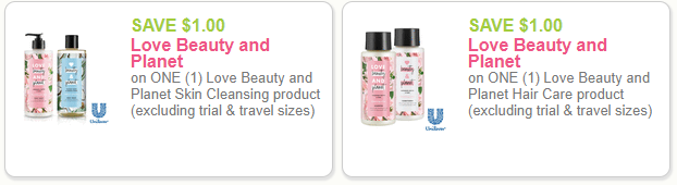 Love Beauty Planet coupons