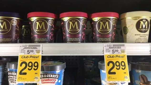 Magnum ice cream coupon august 2018