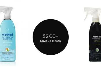 Method Cleaners for as Low as $2.00 – $2.50