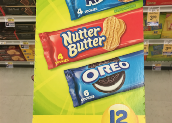 Nabisco Snack 12 Packs as low as $2.86 at Safeway