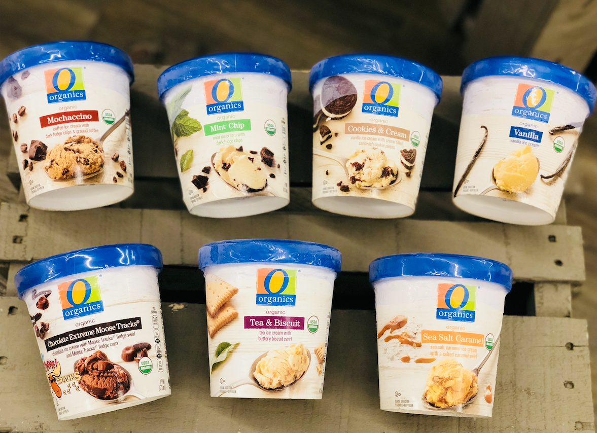 O Organics Ice Cream Flavors