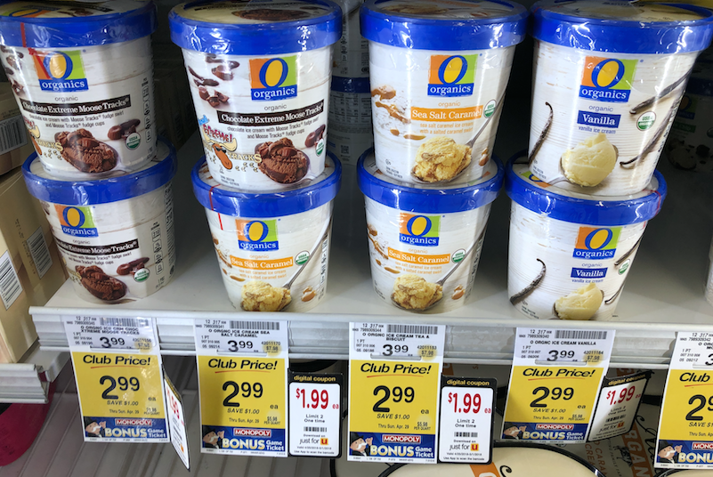 O Organics Organic Ice Cream