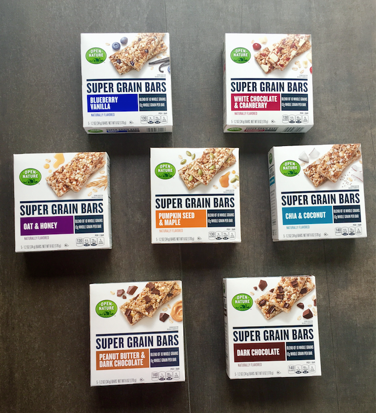 Open Nature Super Grain Bars