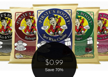 Pirate's Booty All Natural Rice and Corn Puffs for $0.99 (After Coupon & Sale)