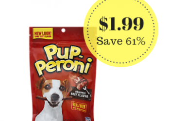 Pup-Peroni Dog Treats Only $1.99 at Safeway – Save 61%