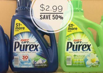 Purex Liquid Laundry Detergent Only $2.99 – Save 50%