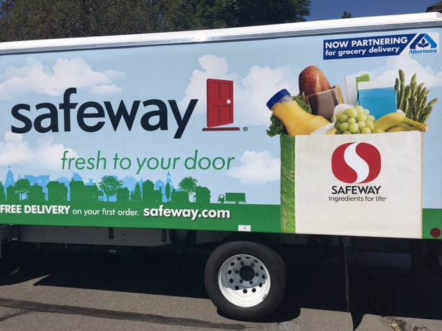 Order online groceries from Safeway