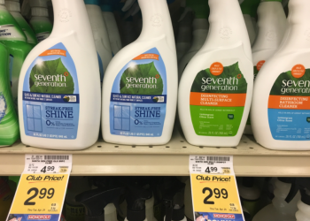 Seventh Generation Coupon, Pay $1.99 for Cleaners