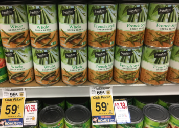 Signature SELECT or Signature Kitchens Canned Veggies, Only $0.39
