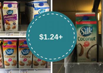 Silk Coupons – $1.24 for Coconut Milk or $1.99 for Other Non-Dairy Milk