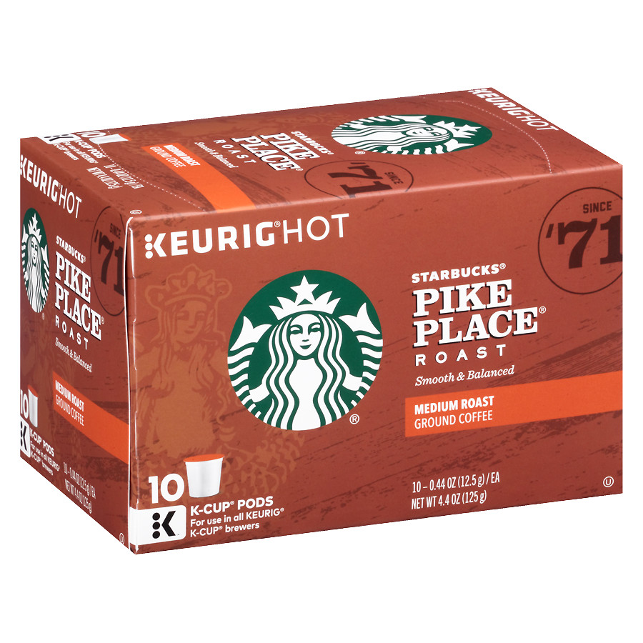 Starbucks Sale 3 49 For Latte K Cups Or 4 99 For Coffee
