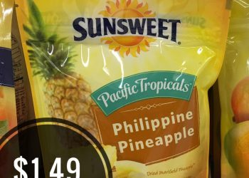 Get Sunsweet Dried Pineapple for Just $1.49 at Safeway
