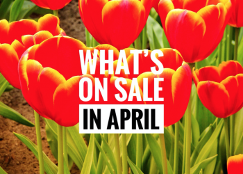 What's On Sale in April
