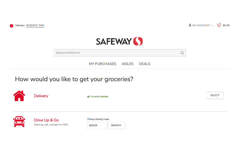 Order Groceries Online Easily With New Safeway Grocery Delivery