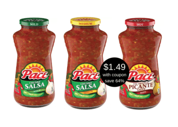 Pace Salsa Coupon Deal – Pay as Low as $1.49 for 24 oz at Safeway