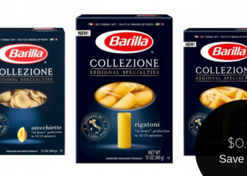 Barilla Coupon for Collezione Pasta, Only Pay $0.99