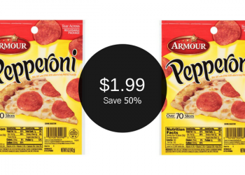 Armour Pepperoni $1.99 (No Coupons Needed)