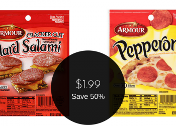 Armour Pepperoni & Hard Salami $1.99 (No Coupons Needed)