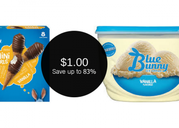 Blue Bunny Ice Cream Coupons, Only $1.00