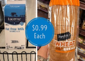 Save on Milk and Bread at Safeway – Only $0.99 Each