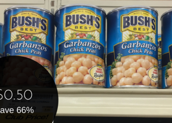 Bush's Best Coupon, Only $0.50 for Beans