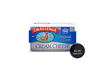 Challenge Cream Cheese Sale & Coupon, Only $1.00 at Safeway
