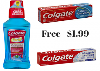 More Free Colgate Toothpaste at Safeway and Hot Deals on Mouthwash