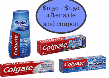 Colgate Toothpaste as Low as $0.50 With New Coupons at Safeway