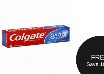 FREE Colgate Toothpaste (Save 100%)