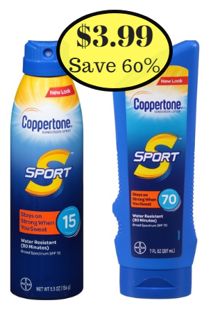 Coppertone sale